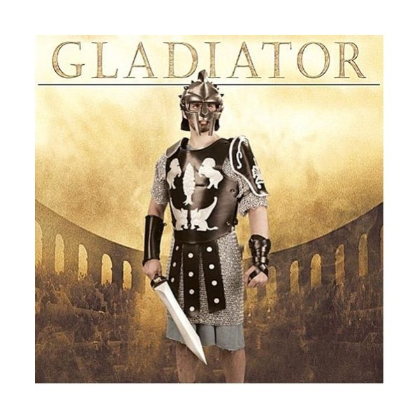 Gladiator - Cuirass and Vambraces of the Spaniard