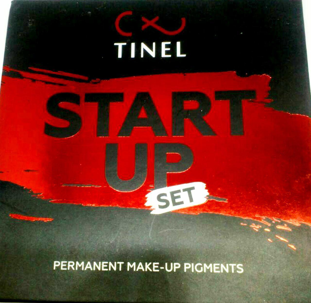 """Cет пигментов от компании Tinel  """"START UP"""""""