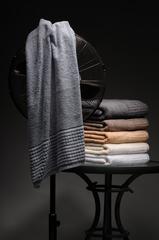 Стильное махровое полотенце для рук CARRARA Buddemeyer 48х85