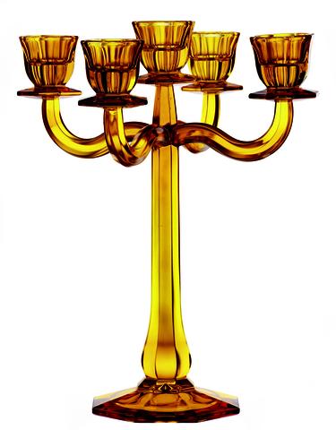Подсвечник на 5 свечей Amber артикул 71191. Серия Ravello