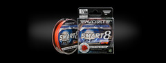 Шнур Favorite Smart PE 8X 150m (red orange) #0.8/0.153mm 6.8kg