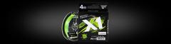 Шнур Favorite X1 PE 4x 150m (light green) #0.5/0.117mm 4.1kg/9lb