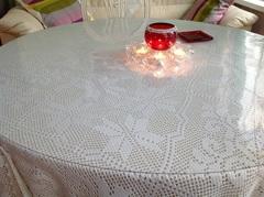 Скатерть круглая прозрачная 107 см толщина 2 мм