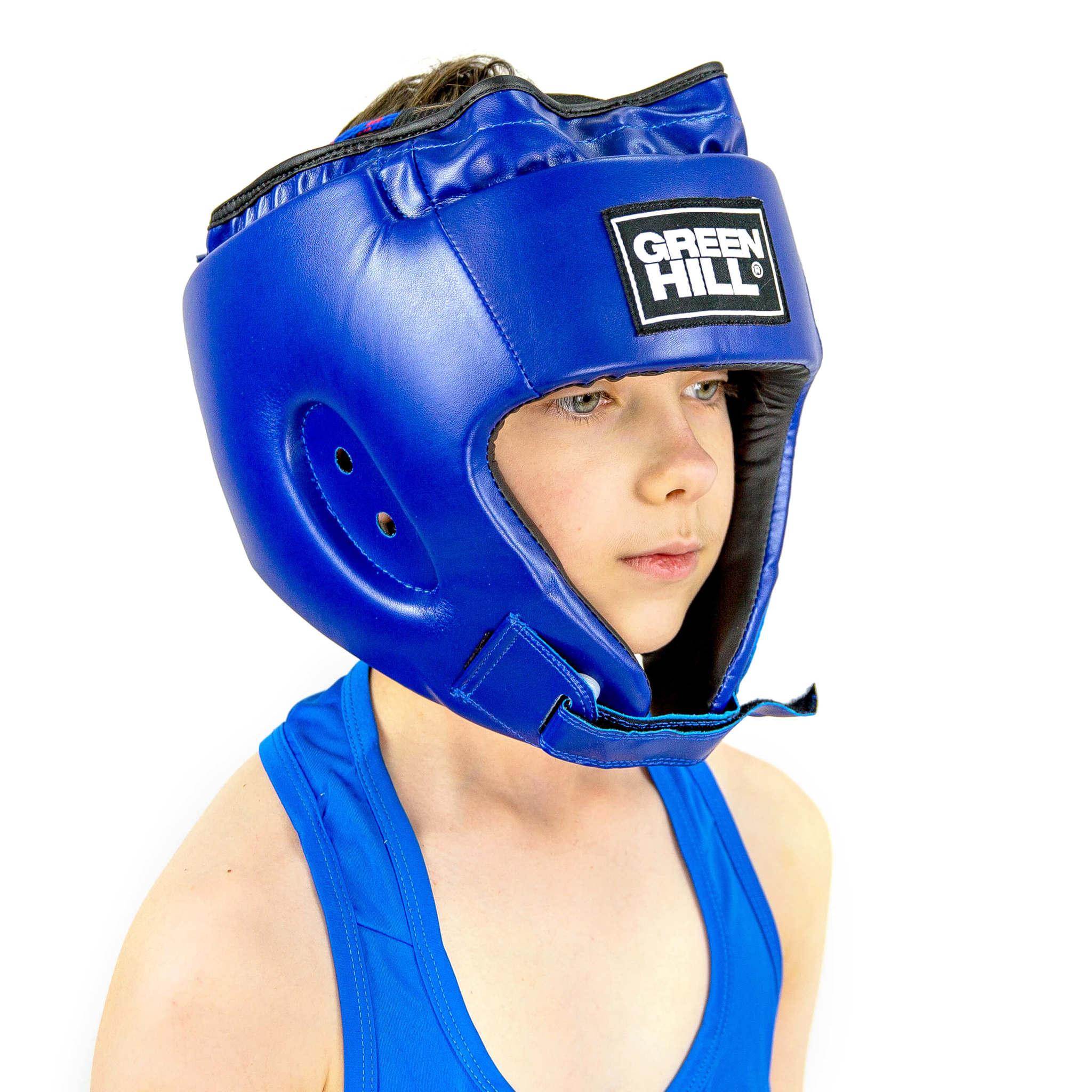 Шлемы Шлем для боевого самбо Alfa HGA-4014 Green Hill 5L9A00545L9A0054_1.jpg