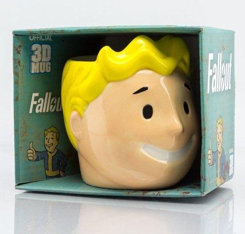 3D кружка «Fallout (Волт-бой)»