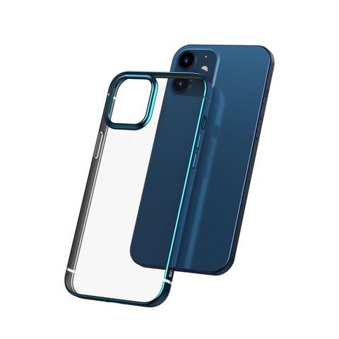 Чехол iPhone 12 /5,4''/ Baseus Shining Case /blue/