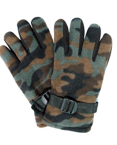 Перчатки флисовые цвет КМФ