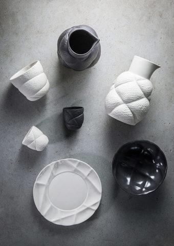 Фарфоровый стакан для кофе, черный, артикул 650735, серия Succession