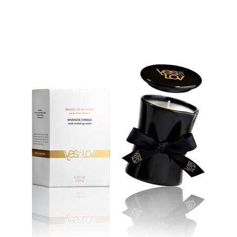 YESforLOV TITILLATING MASSAGE CANDLE, 120 ml Массажное аромамасло