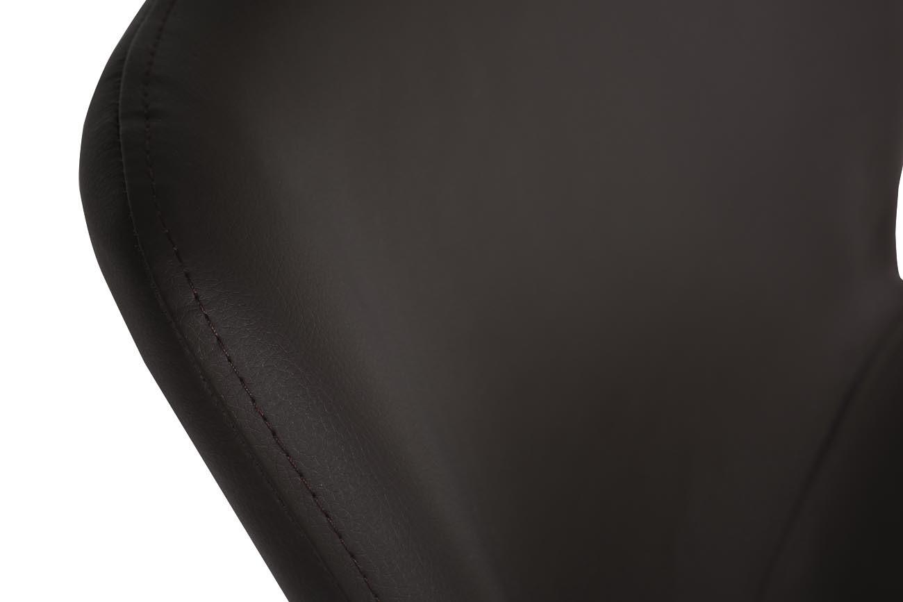Стул барный 30C-TDC-104 BRN экокожа темно-коричневая 56*42*102см