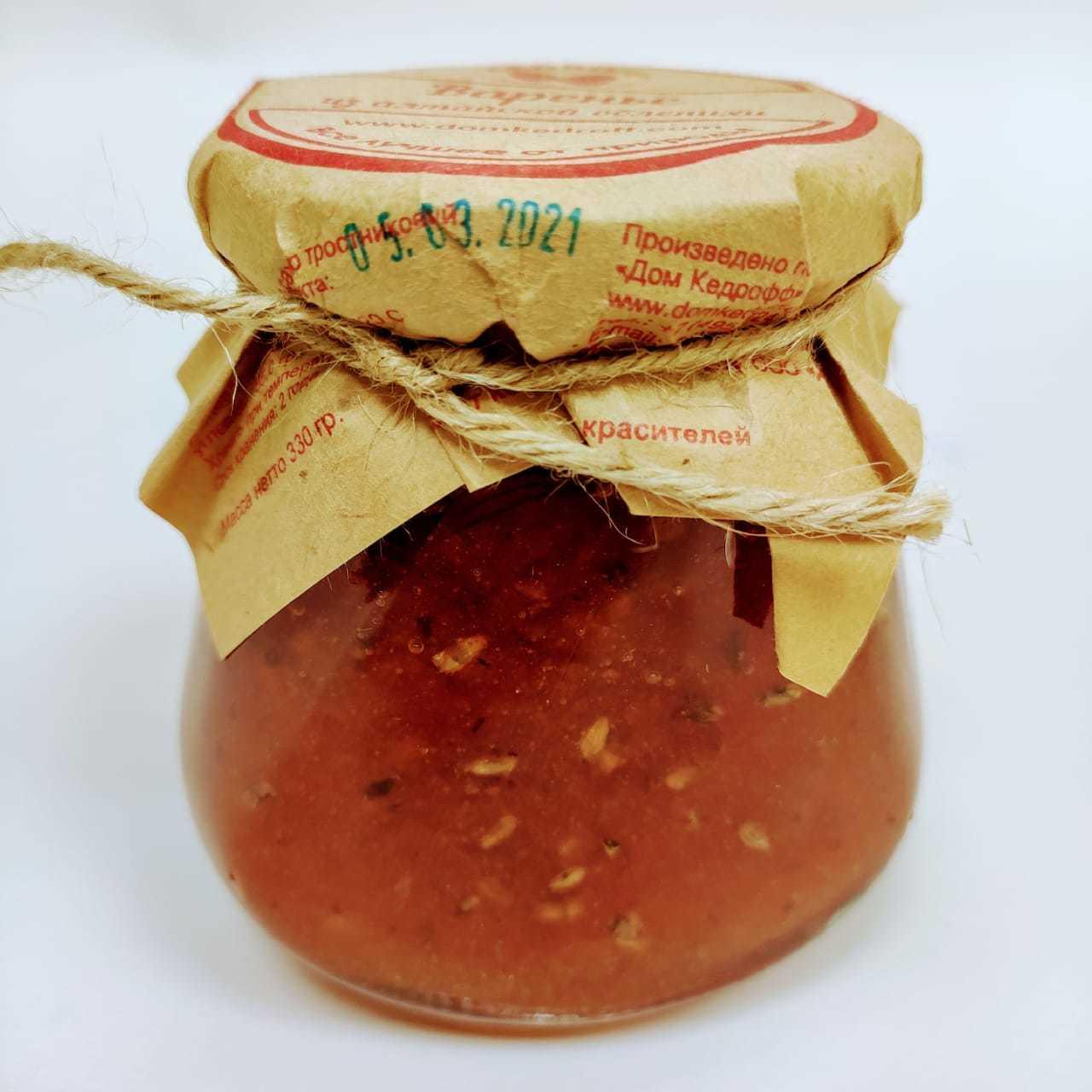Сибирское варенье из диких ягод, 330г