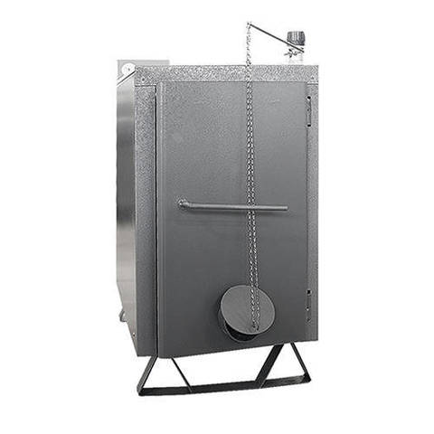 Котел твердотопливный ЭВАН WARMOS-TT - 25 кВт (без регулятора тяги, стальной)