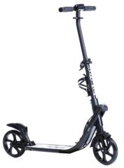 Двухколесный самокат для взрослых, материал - металл/пластик, BIBITU SPORT 9 K 2, черный