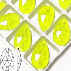 Купить ярко-желтые ультровые неоновые стразы Neon Yellow в интернете