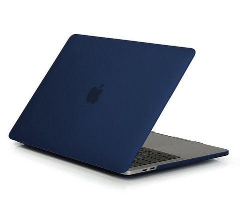 Накладка пластик MacBook Pro 16 Retina /matte navy blue/ DDC