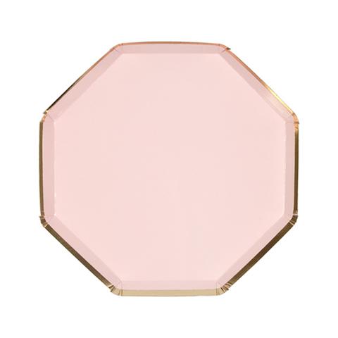 Тарелки темно-розовые
