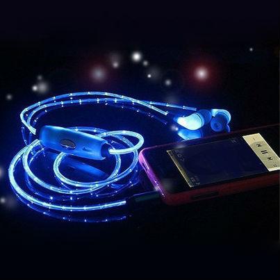 Гаджеты и hi-tech аксессуары Светящиеся LED наушники Lighted Earphone b0ef1a7e7a87f46cbfcf06ee399347b5.jpg