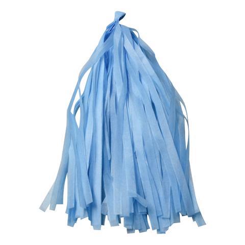 Гирлянда Тассел, голубая