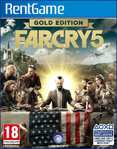 Far Cry 5 Gold Edition PS4 | PS5