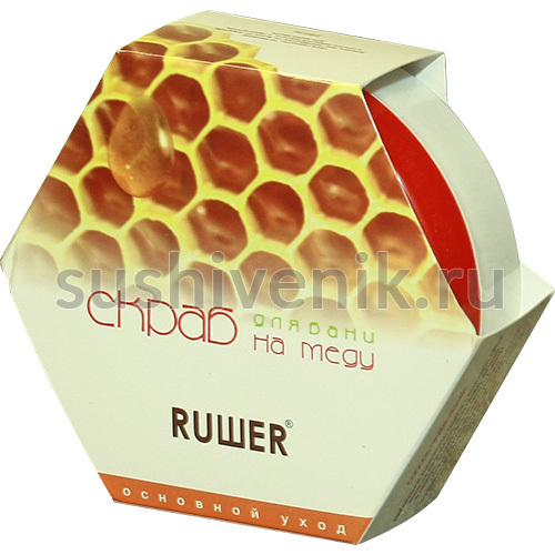 Скраб на меду