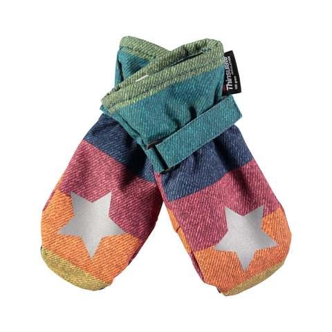 Варежки Molo Mitzy Denim Rainbow купить в интернет-магазине Мама Любит!