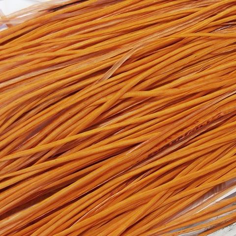 Перо петуха фасованное - Golden Brown (10 шт)