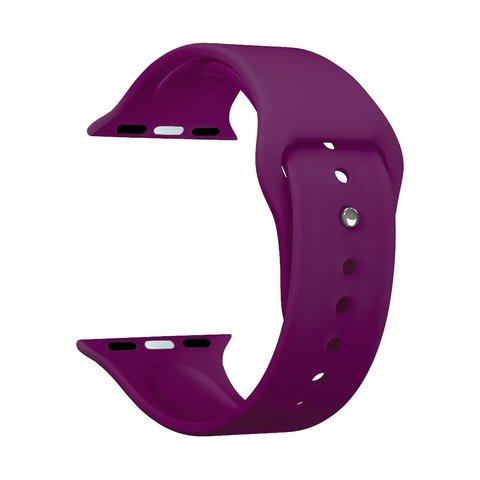 Ремешок силиконовый Deppa Band Silicone D-47132 для Apple Watch 44мм/ 42мм Бургунди