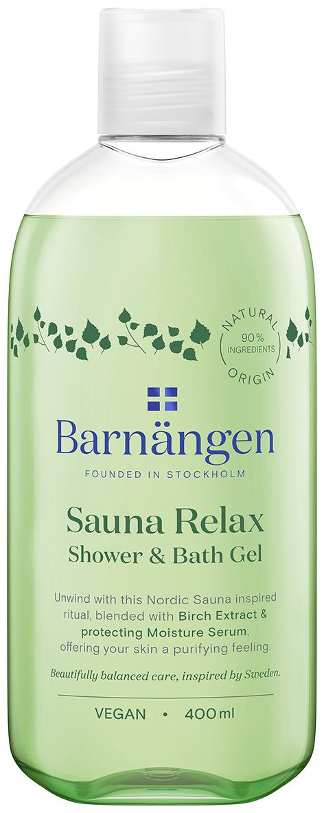 Гель для душа и ванны Barnangen Sauna relax, 400 мл