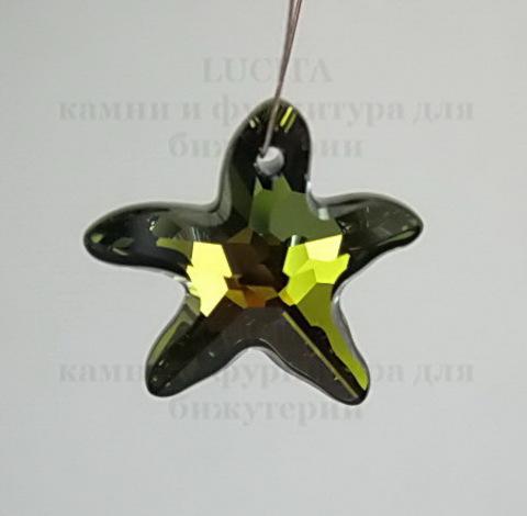 6721 Подвеска Сваровски Морская Звезда Crystal Tabac (28 мм) ()