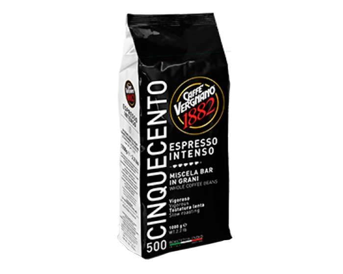Кофе в зернах Vergnano Espresso Intenso 500, 1 кг