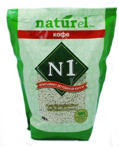 Наполнитель комкующийся Litter N1 NATUReL «Coffee» - crumpled