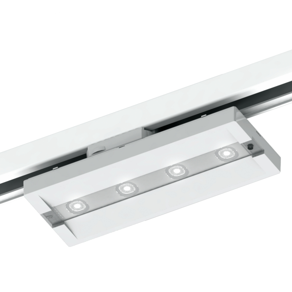 Аварийные трековые светодиодные светильники на шинопроводе UP LED TRACK Beghelli – внешний вид