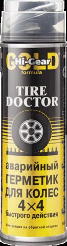 5339 Аварийный герметик для ремонта проколотых шин (с шлангом, аэрозоль)  TIRE DOCTOR 456 г, шт