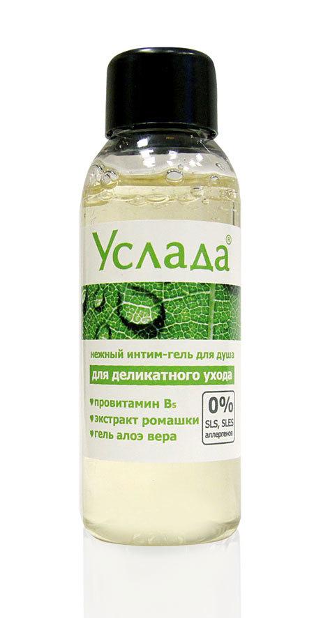 Интим-гель для душа  Услада-нежный уход  - 50 гр.