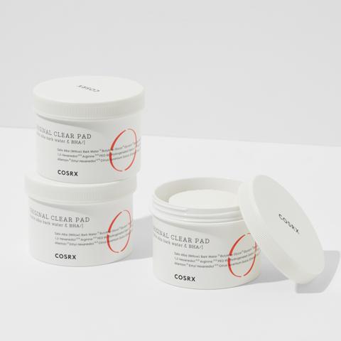 Диски с салициловой кислотой для глубокого очищения, отшелушивания и тонизирования, 70 шт. / Cosrx One Step Original Clear Pad