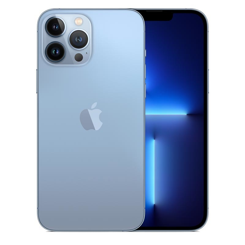 iPhone 13 Pro Max, 256 гб, небесно-голубой