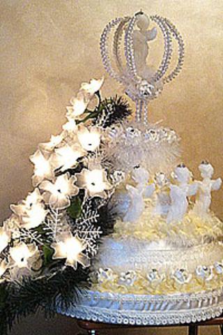 Новогодний декор подарочная композиция Рождественский ангел ручной работы, эксклюзив.
