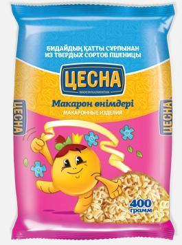 Макароны ЦЕСНА GOLD Зоопарк 400гр