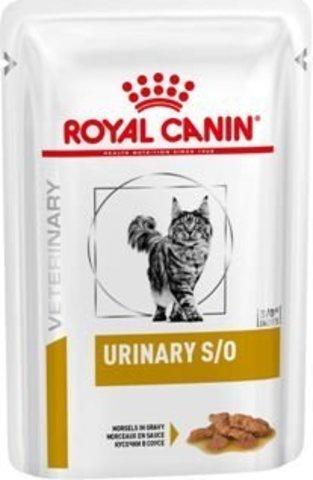 Паучи Royal Canin Urinary S/O для кошек при МКБ в соусе , 85 г