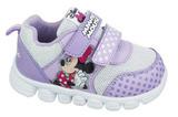 Кроссовки Минни Маус (Minnie Mouse) на липучках для девочек, цвет сиреневый. Изображение 1 из 8.