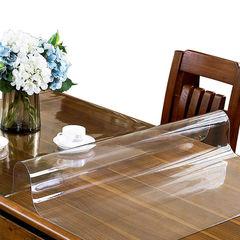 Прозрачная скатерть на стол (гибкое стекло) 140*80 см
