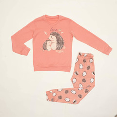 Детская женская пижама E21K-74P101