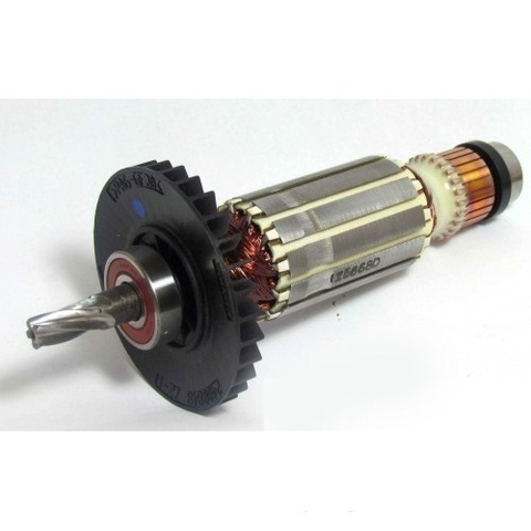 Якорь (ротор) на Makita HR2450 с подшипниками .