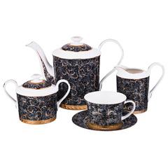 Чайный сервиз на 6 персон из фарфора