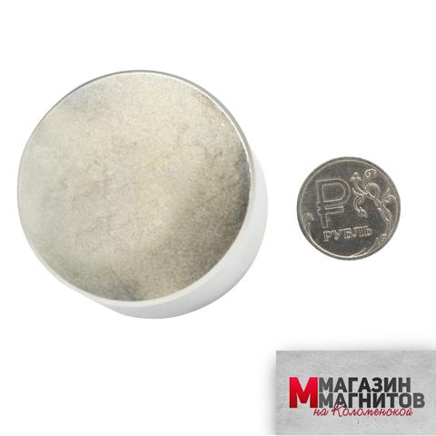 Неодимовый магнит 50х30 мм.