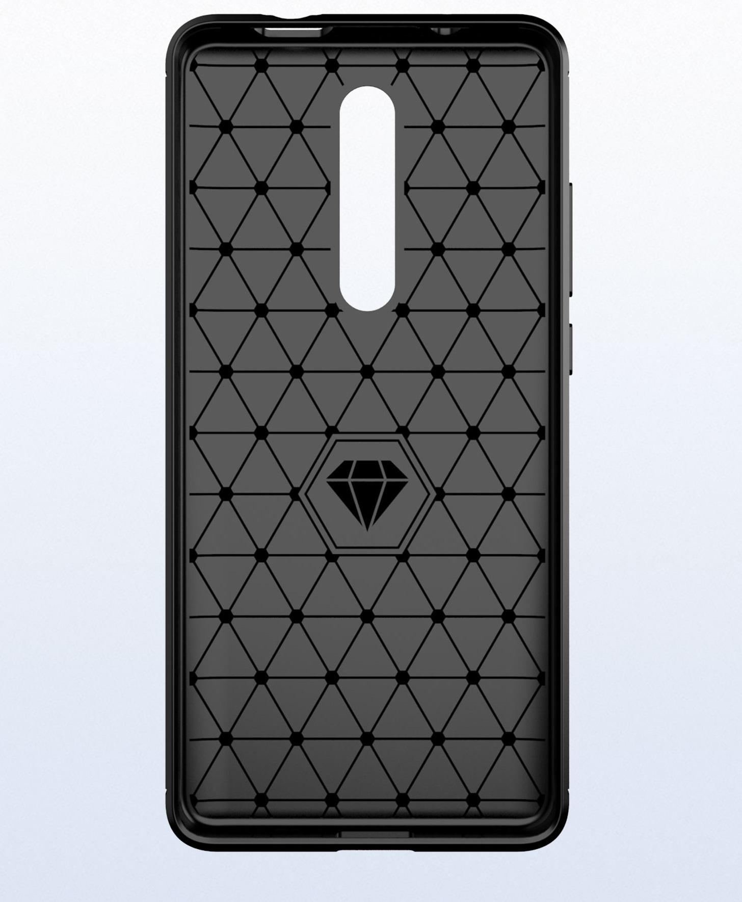 Чехол для Xiaomi Mi 9T (9T Pro, Redmi K20, K20 Pro,K20 Pro Premium) цвет Gray (серый), серия Carbon от Caseport