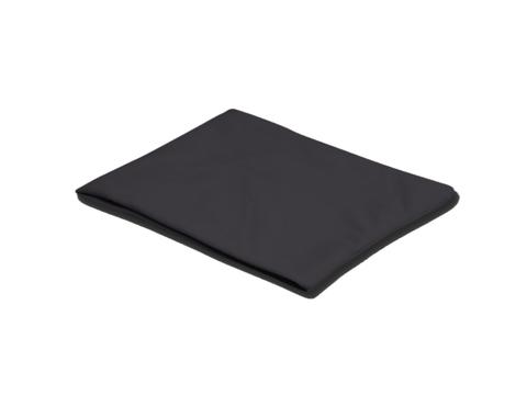 Пояс разогревочный INDIGO. Материал: флис. Размер:  24 см х 25 см. Цвет: чёрный.