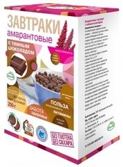 Амарантовые завтраки с тёмным шоколадом