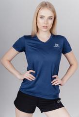 Элитная женская футболка Nordski Оrnament blue W