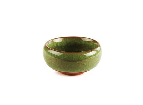 Пиала из обливной керамики